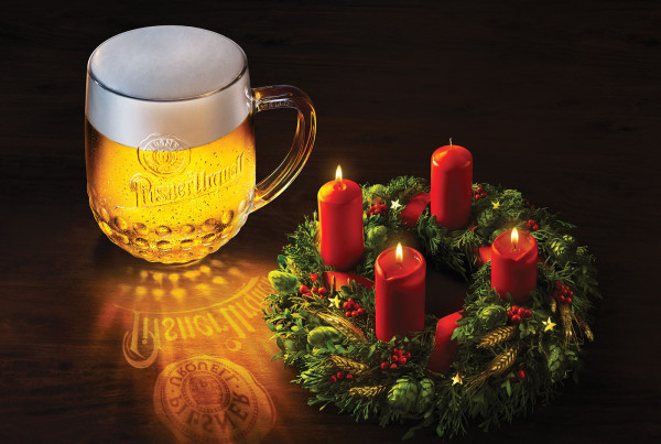 Pilsner Urquell Christmas 2012 Gold